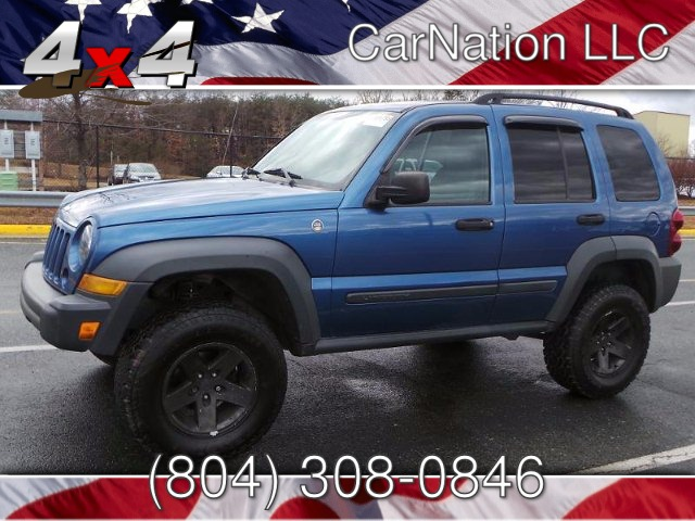 2006 Jeep Liberty Tail Rated 4WD Lift Kit Off Road Tires