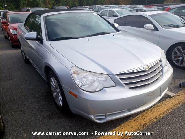 2010 Chrysler Sebring Convertible Touring w 3 Months Warranty
