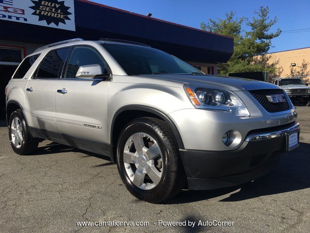 2008 GMC Acadia SLT-1 AWD Rmt Start DVD Pano Roof New Tires