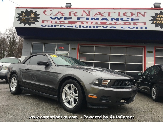 2010 Ford Mustang V6 Premium Convertible Loaded ~Sold~