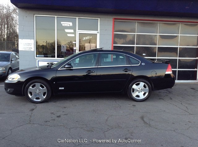 2007 Chevrolet Impala 4-Door SS Leather Sunroof Wheels Loaded