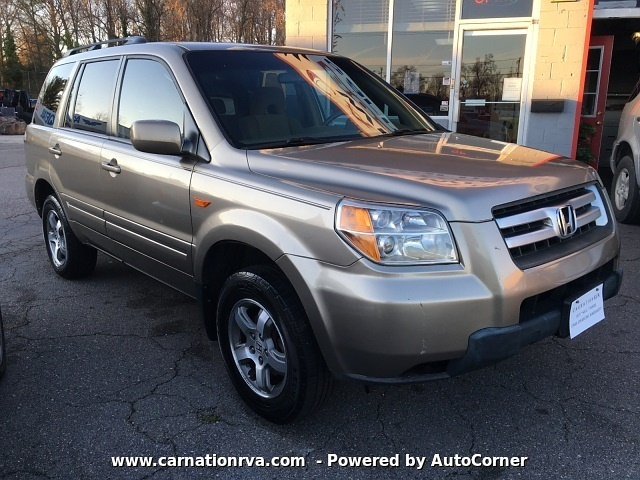 2008 Honda Pilot EX 4WD Automatic All Power 3rd Row ~Sold~
