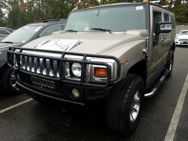 2005 Hummer H2 SUV Leather Sunroof TV/DVD Backup Cam 3rd Row V