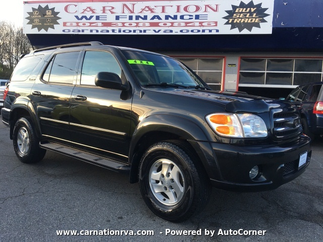2002 Toyota Sequoia Limited 4WD Remote Start ~Just Sold~