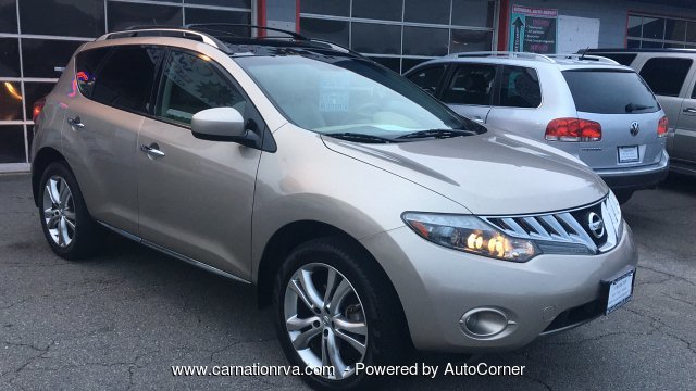 2010 Nissan Murano LE Loaded PushStart Navi Rear Cam 1 Owner