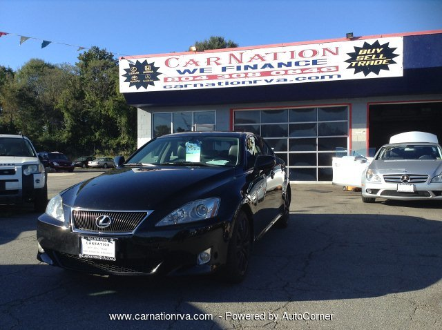 2008 Lexus IS 250 AWD Leather Roof PushStart Navi Backup Cam