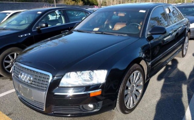2006 Audi A8 L Leather Roof Navigation PushStart