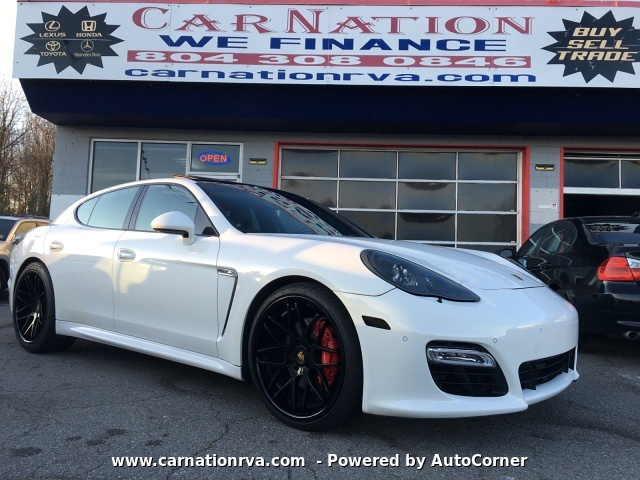 2011 Porsche Panamera S BlueTooth Wheels Exhaust FABSPEED Tuned