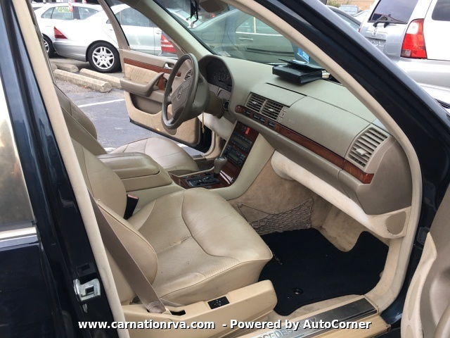 1998 Mercedes Benz S-Class S320 Leather Sunroof New Tires Super Clean