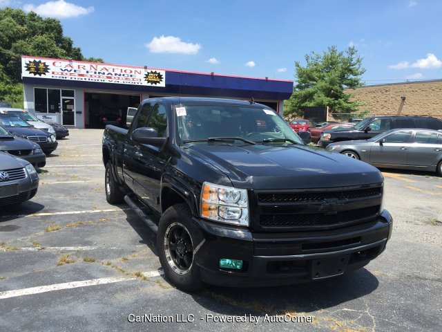 2007 Chevrolet Silverado 1500 W1LT 4WD Ext Cab Exhaust 1-Owner