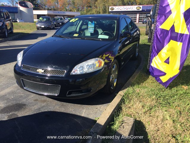 2007 Chevrolet Impala SS Leather Sunroof Loaded Powerhouse
