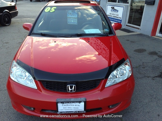 2005 Honda Civic EX coupe 5-Speed w Intake Coils Bluetooth