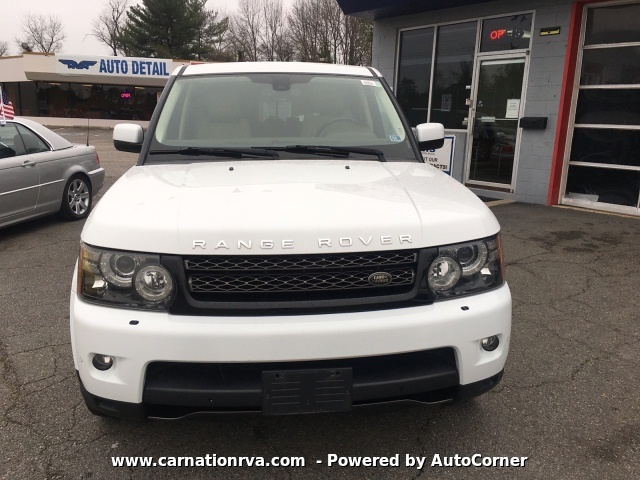 2013 Land Rover Range Rover Sport HSE 8-Speed Automatic