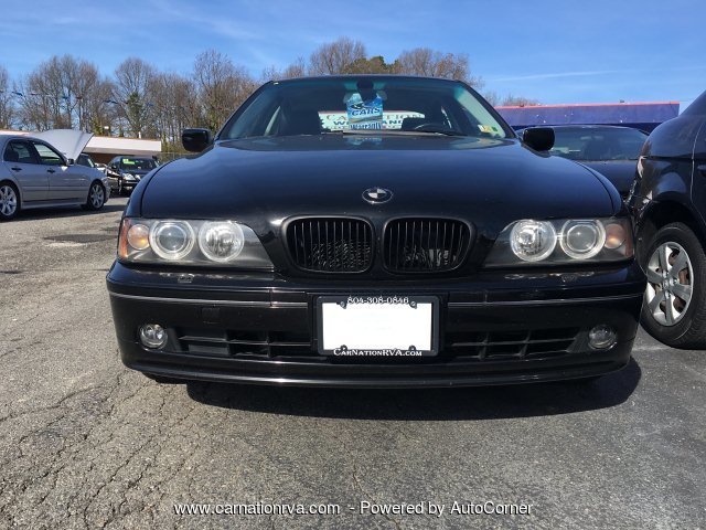 2003 BMW 5-Series 540i Loaded Black on Black w Low Miles
