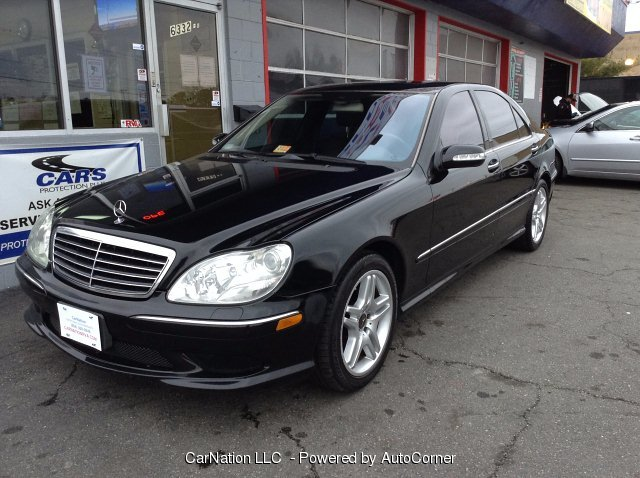 2006 Mercedes Benz S-Class S430 Black on Black Leather Roof Navi AMG