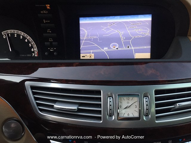 2010 Mercedes Benz S550 Navi Backup Cam Panoramic Roof Night Vision
