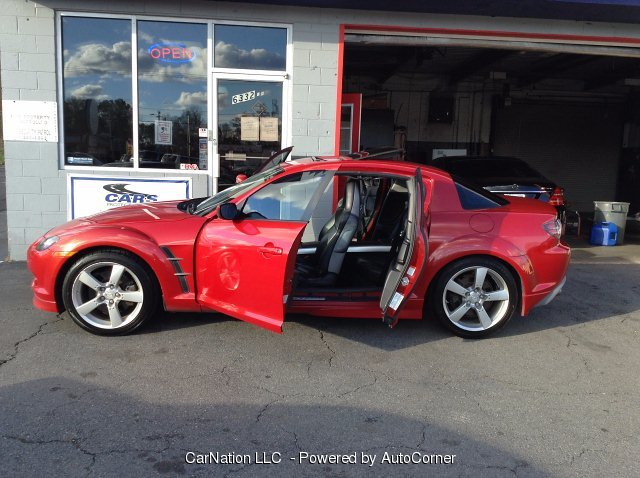 2004 Mazda RX-8 4-Door Coupe Leather Roof Navi Rare Color