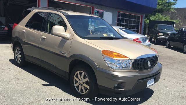 2003 Buick Rendezvous CX AWD Leather 3rd Row Overhead Display