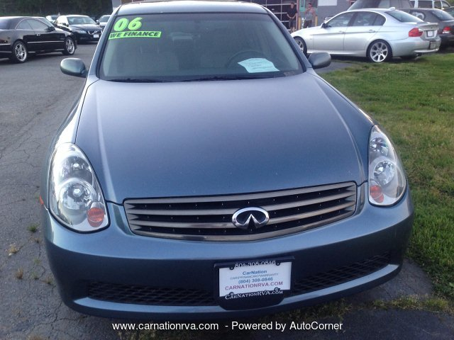 2006 Infiniti G35 Sedan Automatic Leather Sunroof Loaded