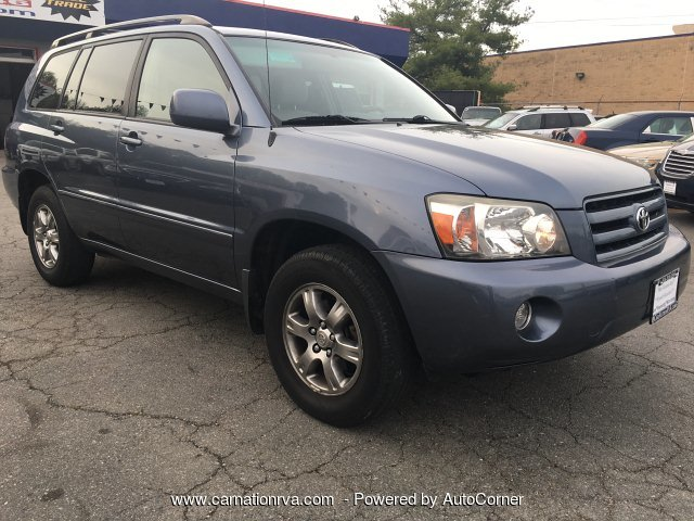2004 Toyota Highlander 4WD Sunroof 3rd Row Only 2 owners