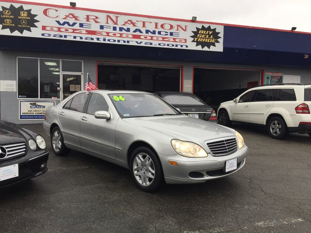 2006 Mercedes Benz S-Class S350 Leather Roof Navi Clean