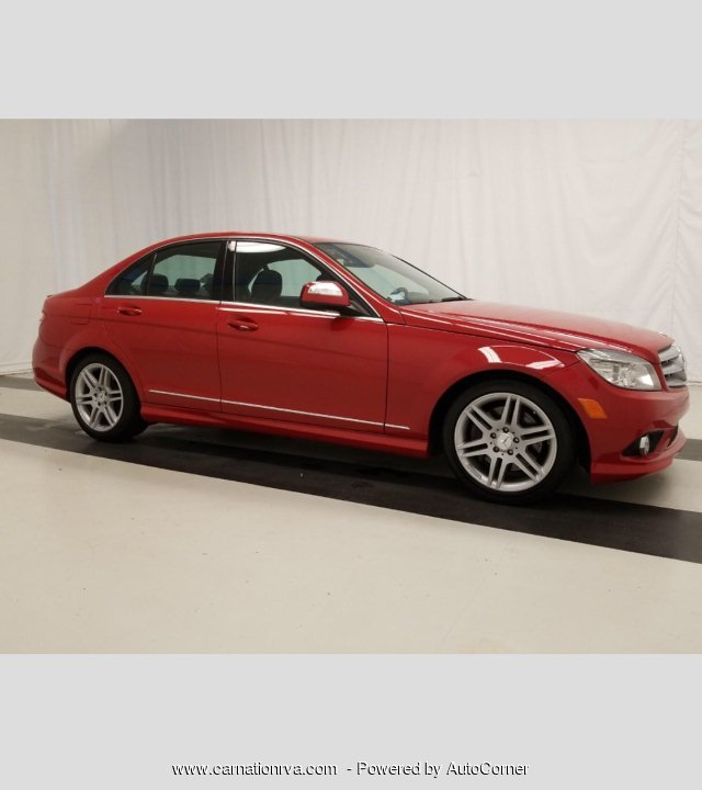 2008 Mercedes Benz C-Class C350 Sports Sedan Loaded w Navigation