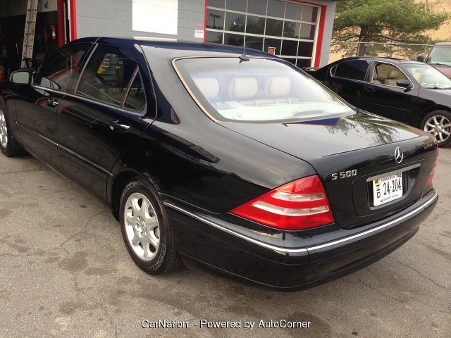2001 Mercedes Benz S-Class S500 LWB Navigation Loaded