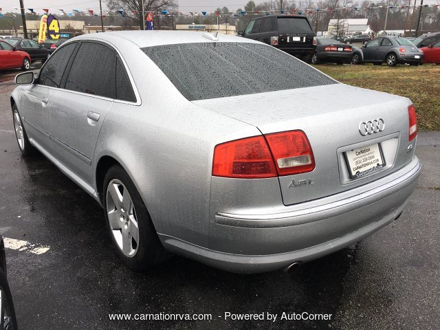 2006 Audi A8 L Leather Sunroof Navigation Push Start
