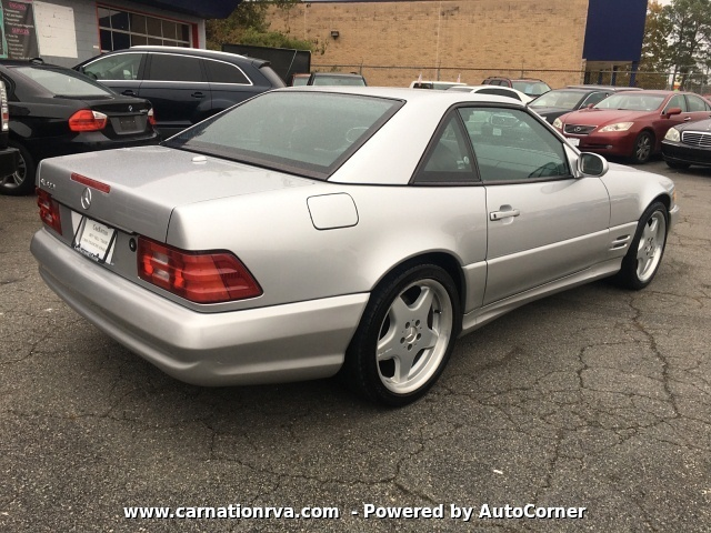 2001 Mercedes Benz SL-Class SL500 Super Clean Prestine Condition