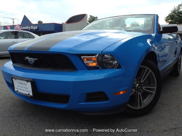 2010 Ford Mustang V6 Premium Convertible Bluetooth 1 Owner